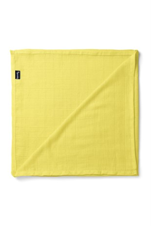Banndu Organic Cotton Muslin Blanket - Yellow