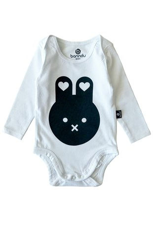 Baby Long Sleeve Body Suite - Mini Rabit